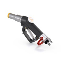WEH® Fueling Nozzle TK17 CNG for cars (NGV1), single-handed operation, twin hose system, 250 bar