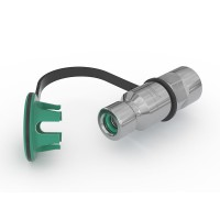 "WEH® Receptacle TN1 CNG for refuelling of cars (ECE), with internal thread G1/2"", filter 40 micron, 200 bar"