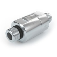 """WEH® Filter TSF1 CNG for fuelling stations as prefilter, external thread on both sides, UNF 9/16""""-18, 40 micron, 250 bar"""