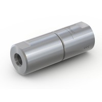 "WEH® Filter TSF2 H₂ for installation in H2 fuelling stations, with internal thread on both sides UNF 9/16""-18, 350 bar"