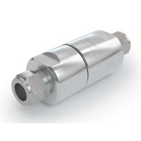 WEH® Filter TSF4 CNG for CNG fuelling stations,  tube Ø 12 on both sides, 40 micron, 200 bar