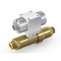 WEH® High Pressure Valve TV17GO for inert gases, pneumatical actuation, shut-off valve, DN12, NO, 420 bar