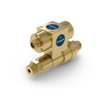 WEH® Shut-off Valve TV17GOS for oxygen, pneumatical actuation, 420 bar