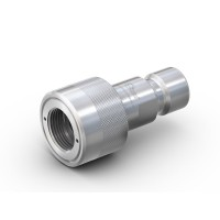 "WEH® Adaptor Nozzle TW04 CNG with Italian standard (G1/2"" external thread) to fuelling nozzle acc. to NGV1"